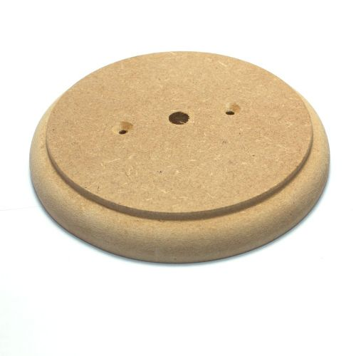 165mm Diameter 18mm Thick MDF Ceiling Rose Pattress Ideal For Painting